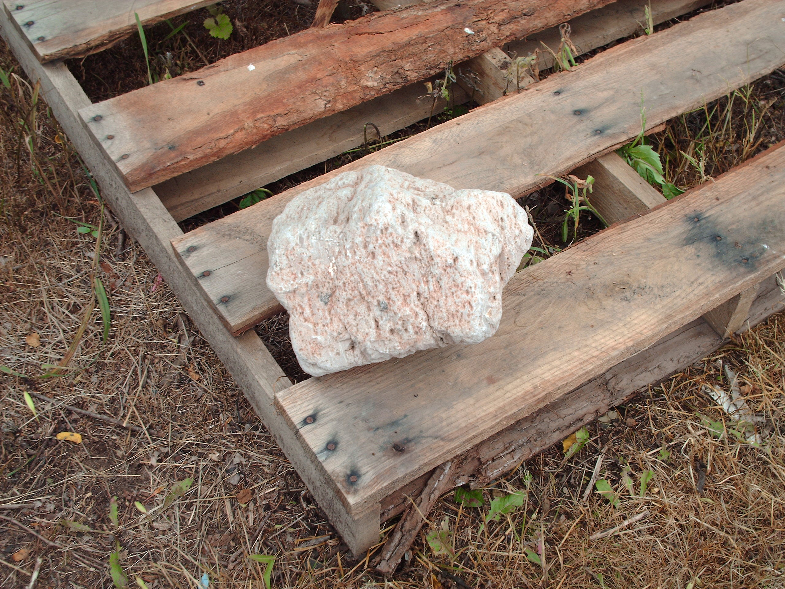 This rock is only $20 at our Fountainville Pa farm. We can UPS it if necessary.