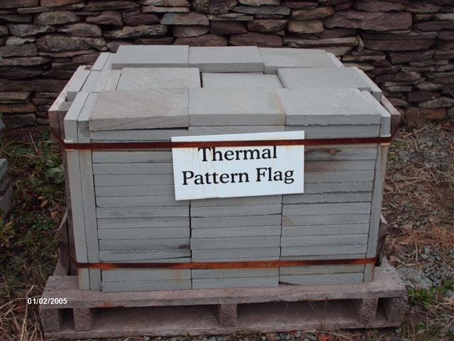 Thermal Pattern Flag...1.5inch is $8.15 per sq ft, 1 inch is $7.15 per sq ft