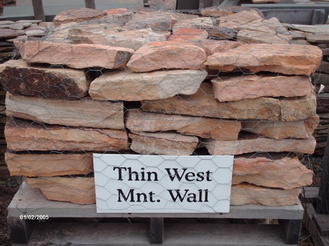 Thin West Mountain Wall...$225 pallet, $185 half pallet