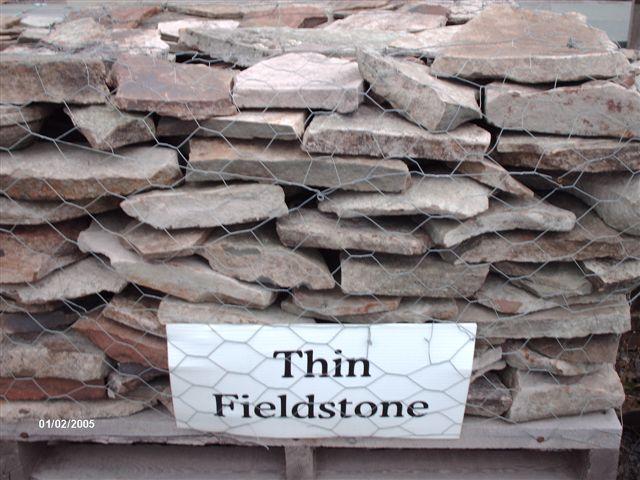 Thin Field Stone...$145 pallet, $115 half pallet