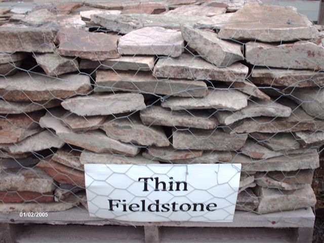 Thin Field Stone.