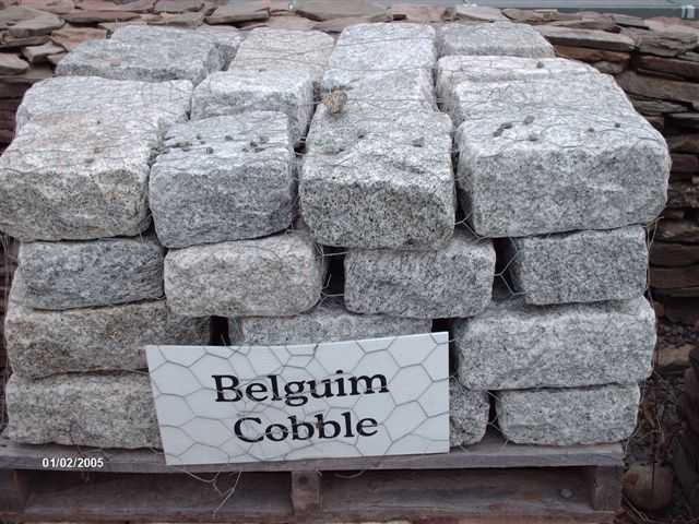 We will deliver Belgium Coble stones for you.